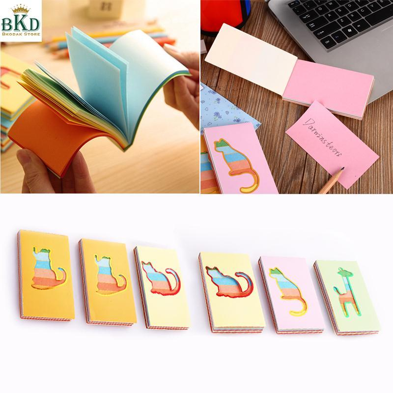 Mua Bkodak Store Multicolor Paper Hollow Animal Cover Hollowed-Out Rainbow Notepad