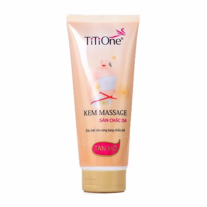 Kem Massage Tan Mỡ Săn Chắc Da Titione 350G nhập khẩu