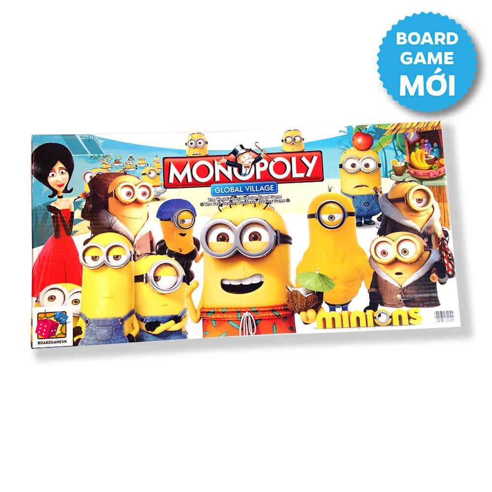 Hình ảnh Bộ trò chơi cờ tỳ phú Monopoly Minion