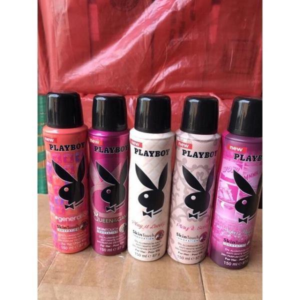 Xịt khử mùi toàn thân Super Playboy nữ mới - Hàng Mỹ
