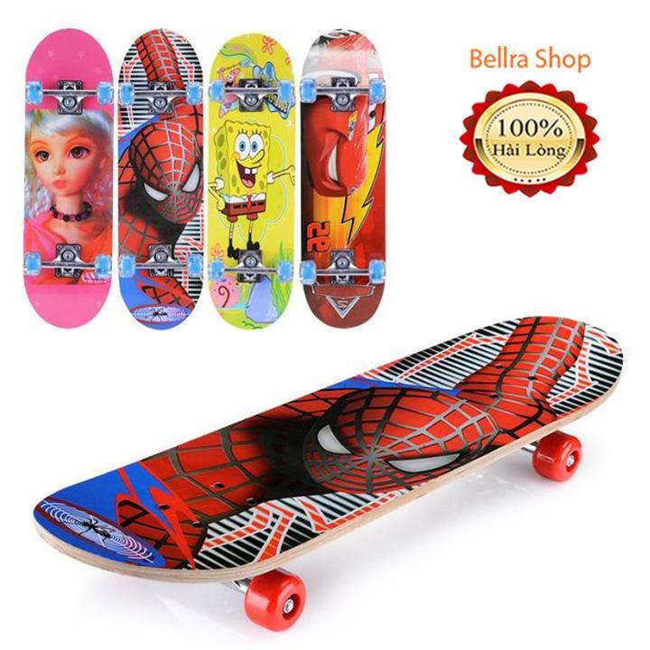 Ván trượt hoạt hình đáng yêu cho bé - Ván trượt trẻ em - Ván Trượt Skate Board