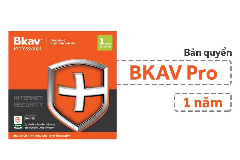 Hình ảnh Phần mềm diệt virus Bkav Pro Internet Security 1PC