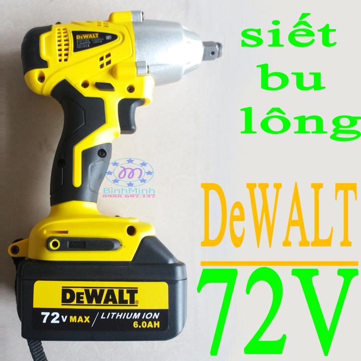 Hình ảnh máy siết bu lông DeWALT - pin 72V   may siet bu long