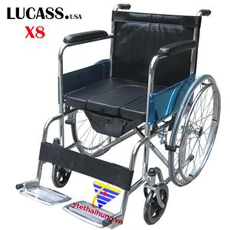 Xe Lăn có bô đệm ngồi Lucass Thương hiệu Mỹ cho người đi lại khó khăn nhập khẩu