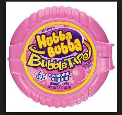 Kẹo Gum Kéo Hubba Bubba Vị Dâu Nhật Bản