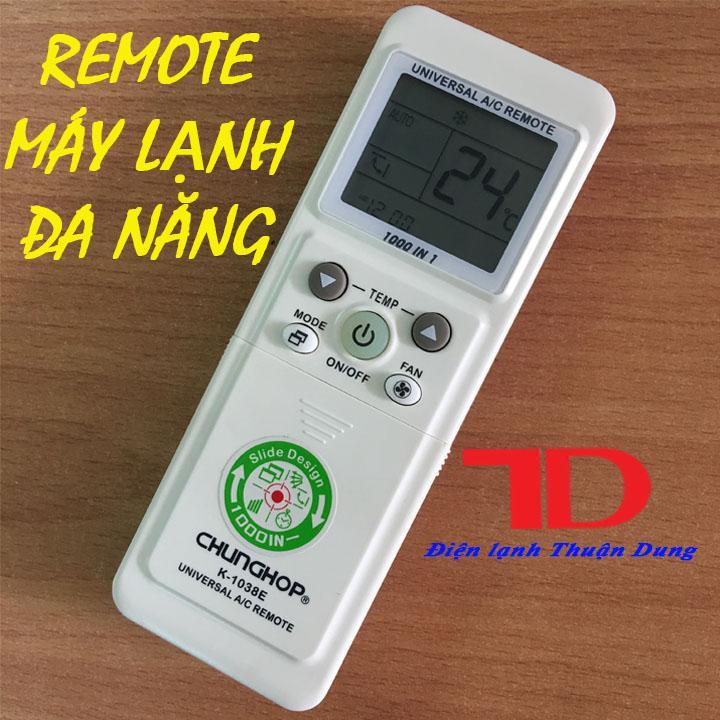 Điều khiển máy lạnh đa năng CHUNGHOP K-1038E