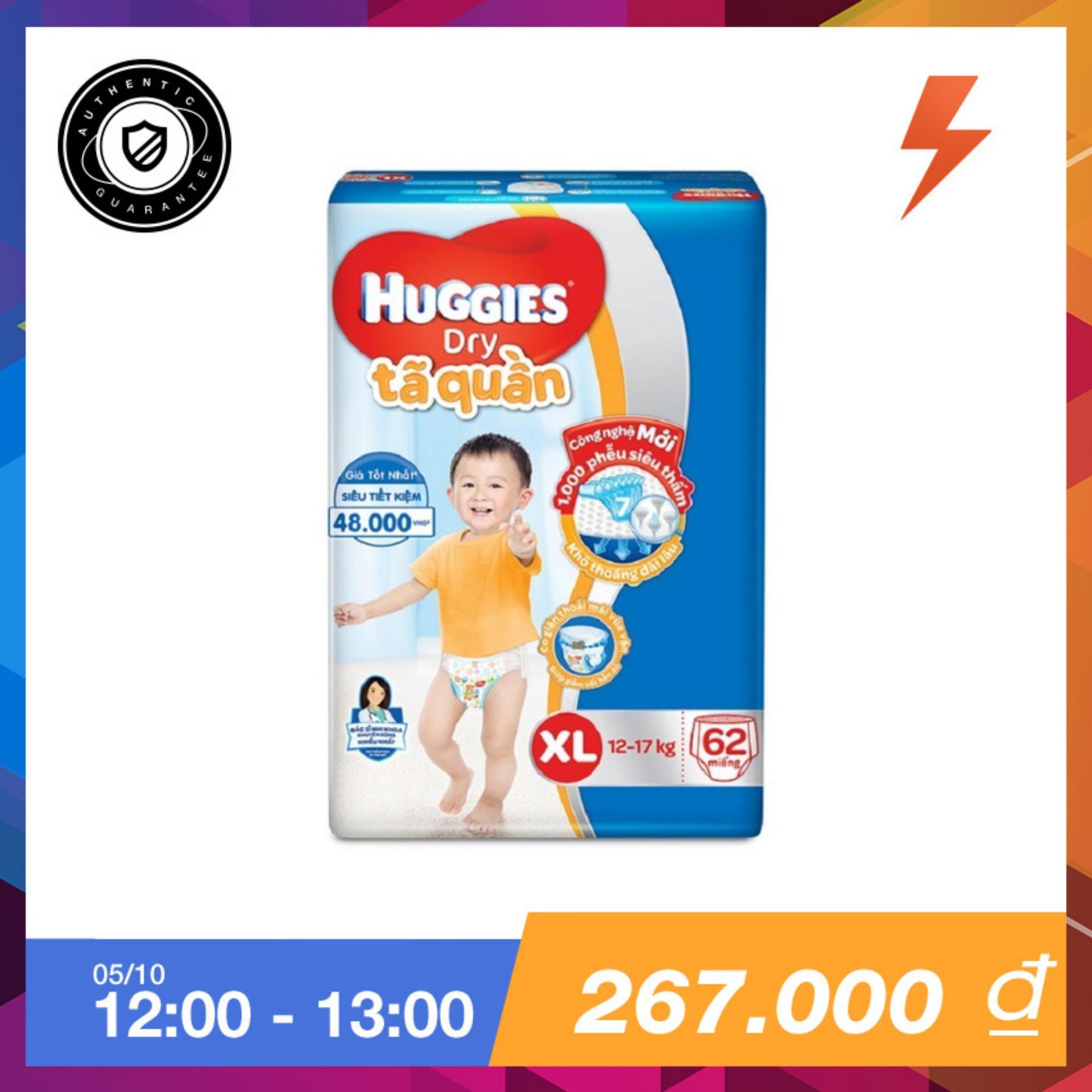 Giá Bán Ta Quần Huggies Super Jumbo Xl62 Trực Tuyến Bắc Ninh