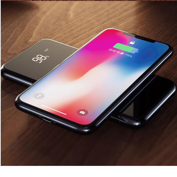 Bán Mua Sạc Khong Day Abo W10 Thong Minh Chuản Qi Kiem Pin Dự Phong 10000 Mah Cho Iphone 8 Iphone X Samsung Galaxy S9 Note8 Mới Hà Nội