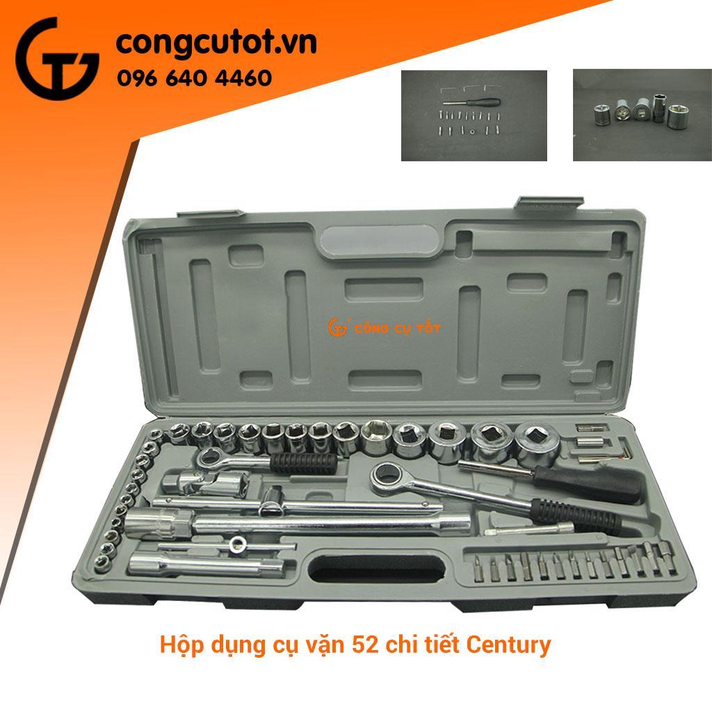 Bộ dụng cụ vặn 52 món CENTURY XL-203A 1/4 inch và 1/8 inch