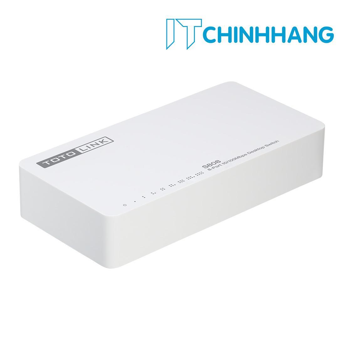 Hình ảnh Switch ToToLink S808 / 8-Port 10/100Mbps - HÃNG PHÂN PHÔI CHÍNH THỨC