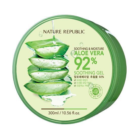Gel Lô Hội Nature Republic Aloe Vera 92% Soothing Gel