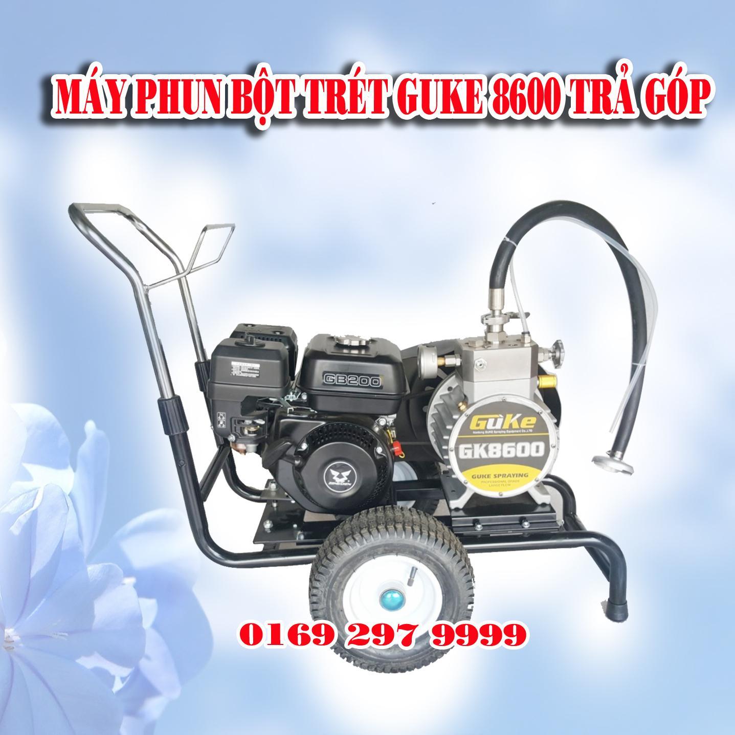 Máy Phun Bột Trét GuKe 8600