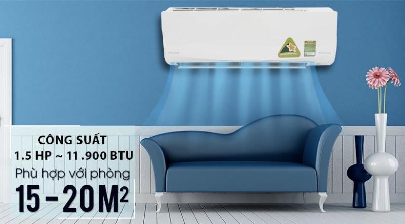 Bảng giá Máy lạnh Daikin Inverter 1.5 HP FTKQ35SVMV Mới 2018