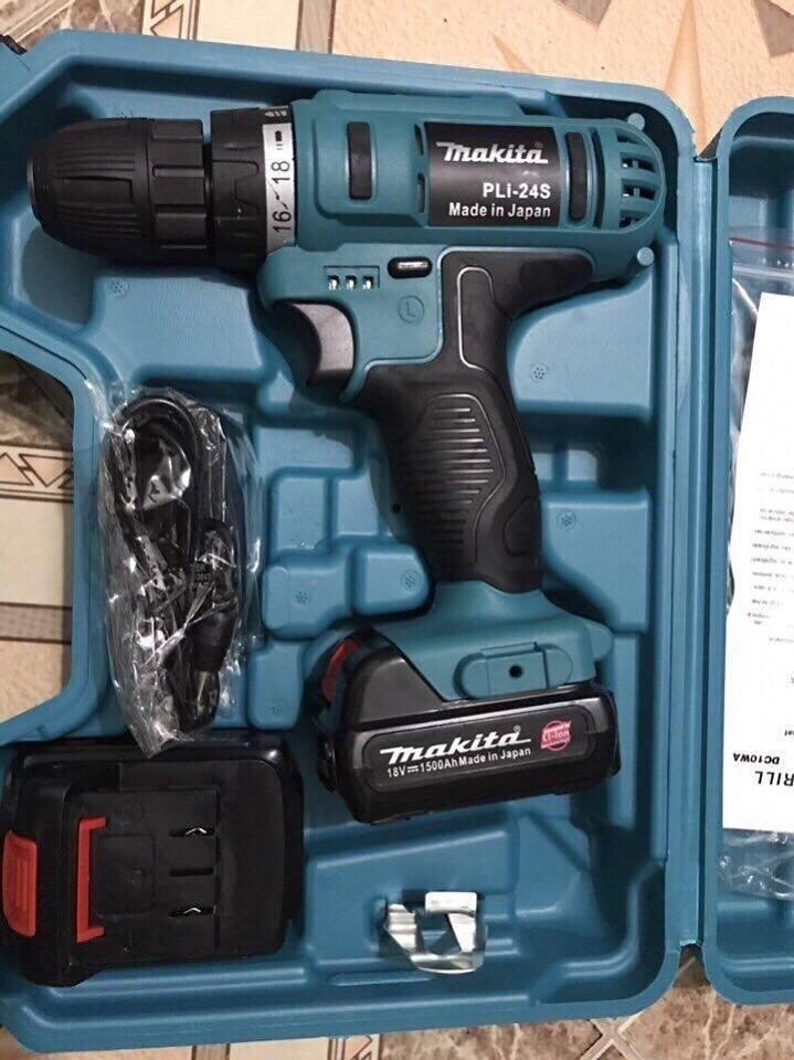 Máy khoan pin cầm tay Makita 18v - Tặng kèm 01 pin - ABG shop