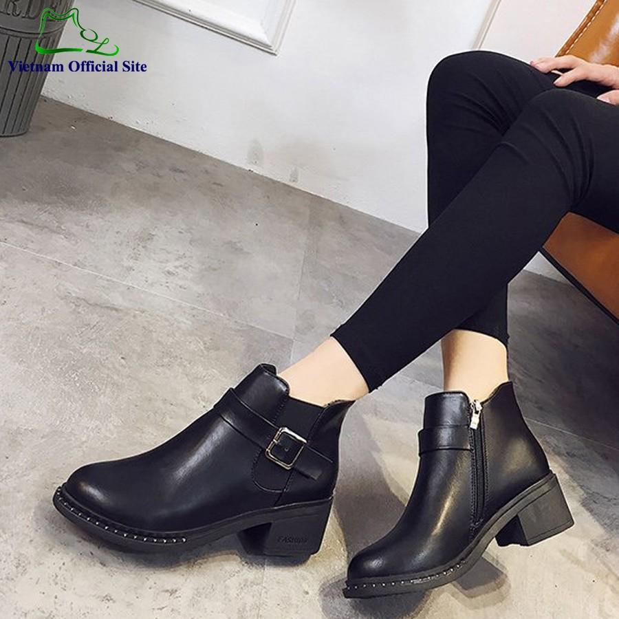 Giày boot cổ cao thời trang nữ LN36B