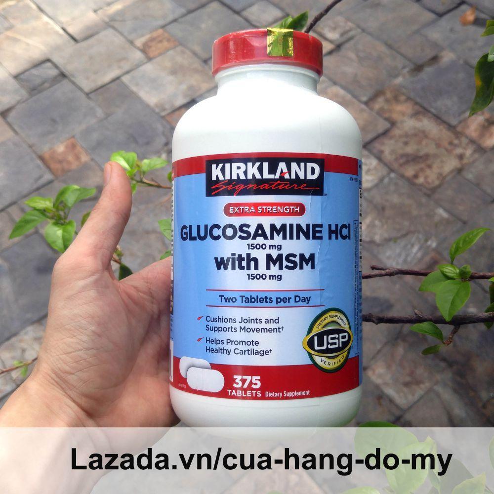 Hình ảnh Viên Uống Bổ Xương Khớp Glucosamin Kirkland Mỹ 375 Viên [Date MỚI] - Hỗ trợ giảm đau, chống thoái hóa xương khớp