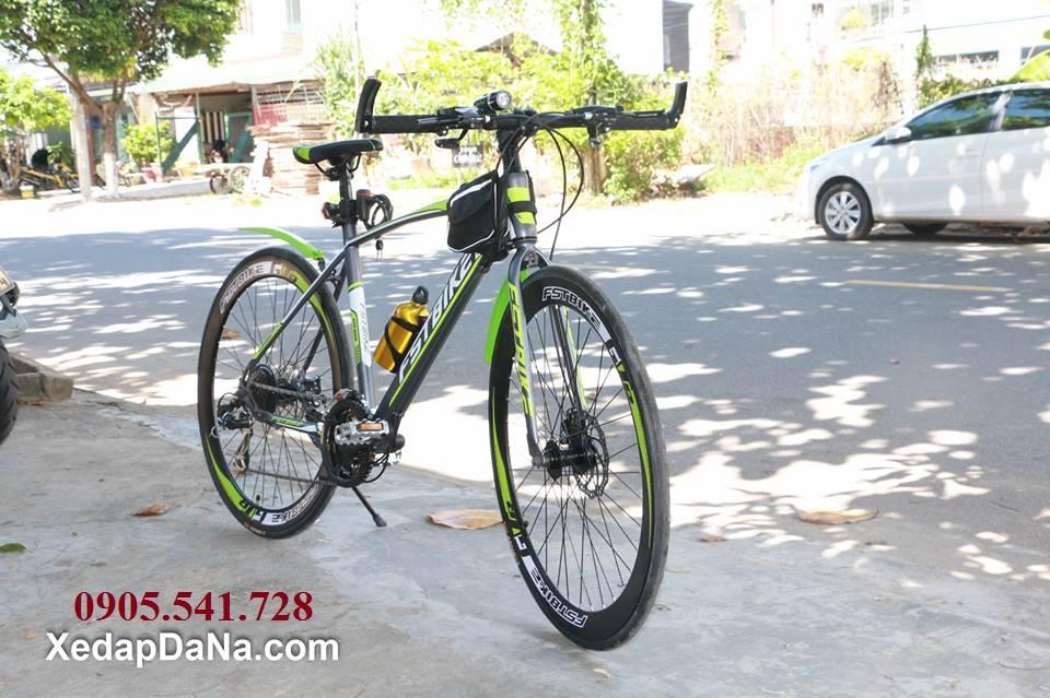 Xe đạp đua FST GT002 màu xanh chuối