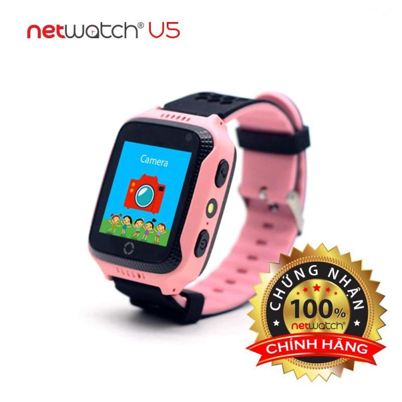 NetWatch® V5 Hồng - Đồng hồ định vị CHÍNH HÃNG - Camera, Màn hình cảm ứng bán chạy