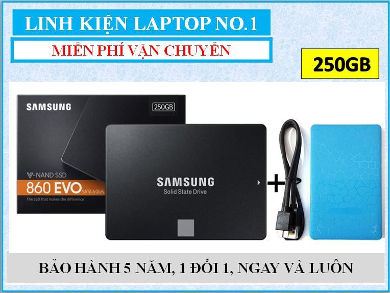 Hình ảnh Ổ cứng SSD Samsung 860evo 250gb SATA III + Tặng kèm Hộp đựng (box) ổ cứng 2.5