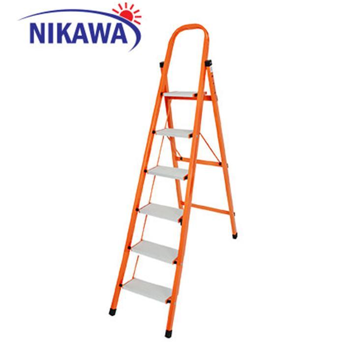 Thang nhôm ghế Nikawa NKS05 Nhật Bản - 5 Bậc 1,2m