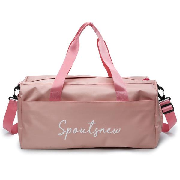 6f5a47e73789b6 KX Fitness bag dry and wet separation female yoga bag waterproof swimming bag  sports bag short