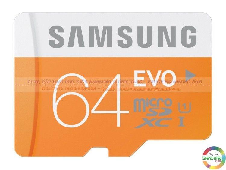 Thẻ nhớ Samsung 64Gb Evo