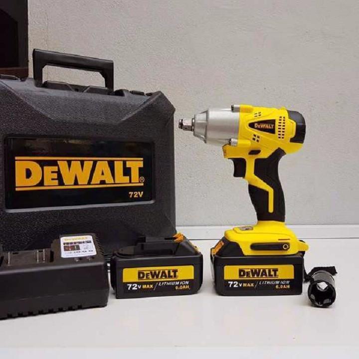 Máy Vặn Ốc Dùng Pin 72V Siêu Khỏe Dewalt 2 pin