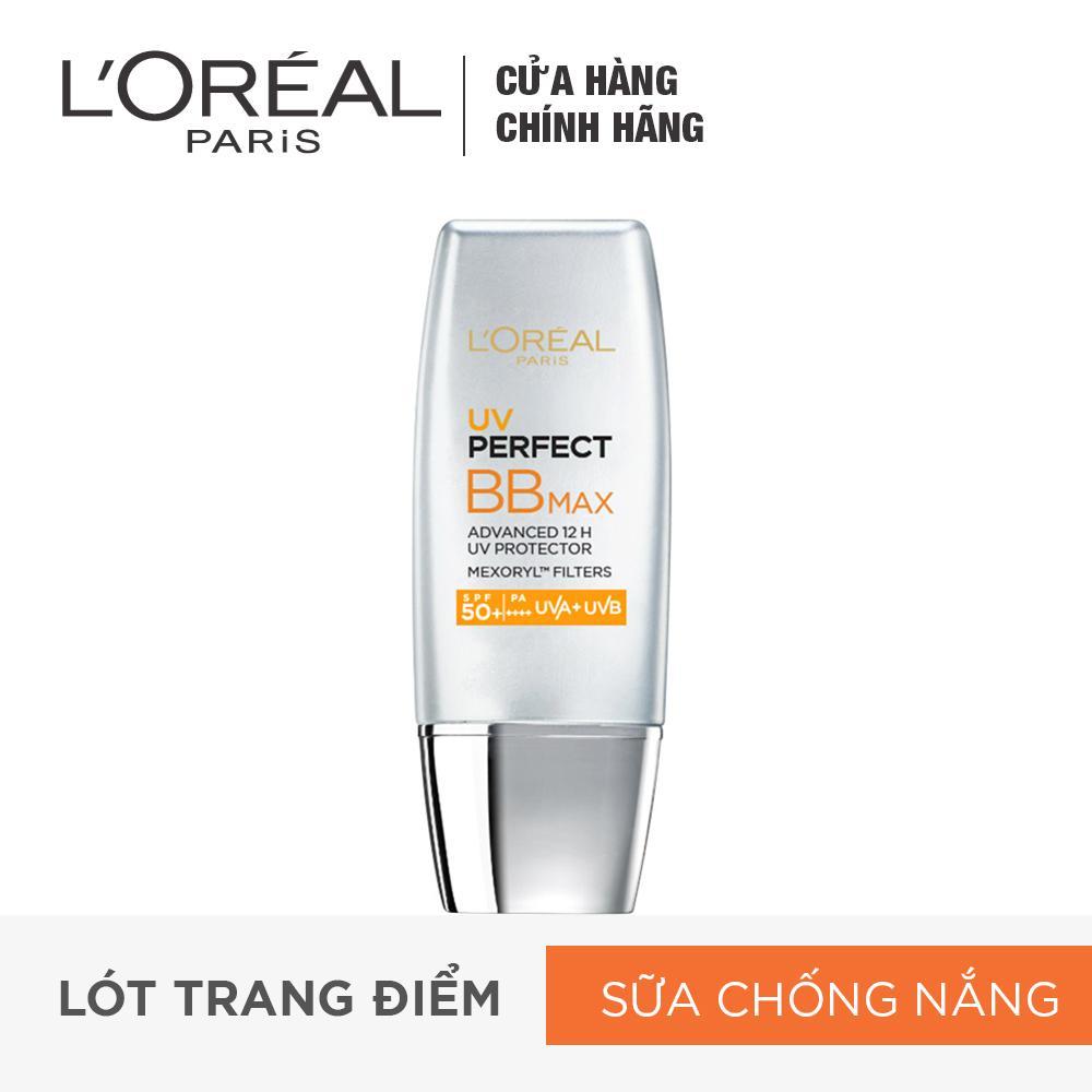 Hình ảnh Kem trang điểm chống nắng L'ORÉAL BB Cream UV Perfect Max SPF 50+ PA+++ 12h 30ml
