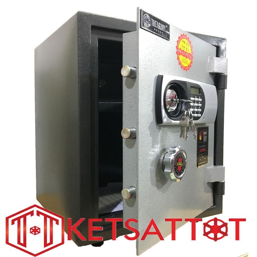 két sắt chống cháy Treasury Bank K40BL (Khoá điện tử báo động)