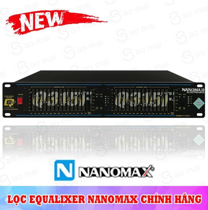 Đầu lọc xì Equalizer Nanomax Q-315F 32 băng tần cao cấp