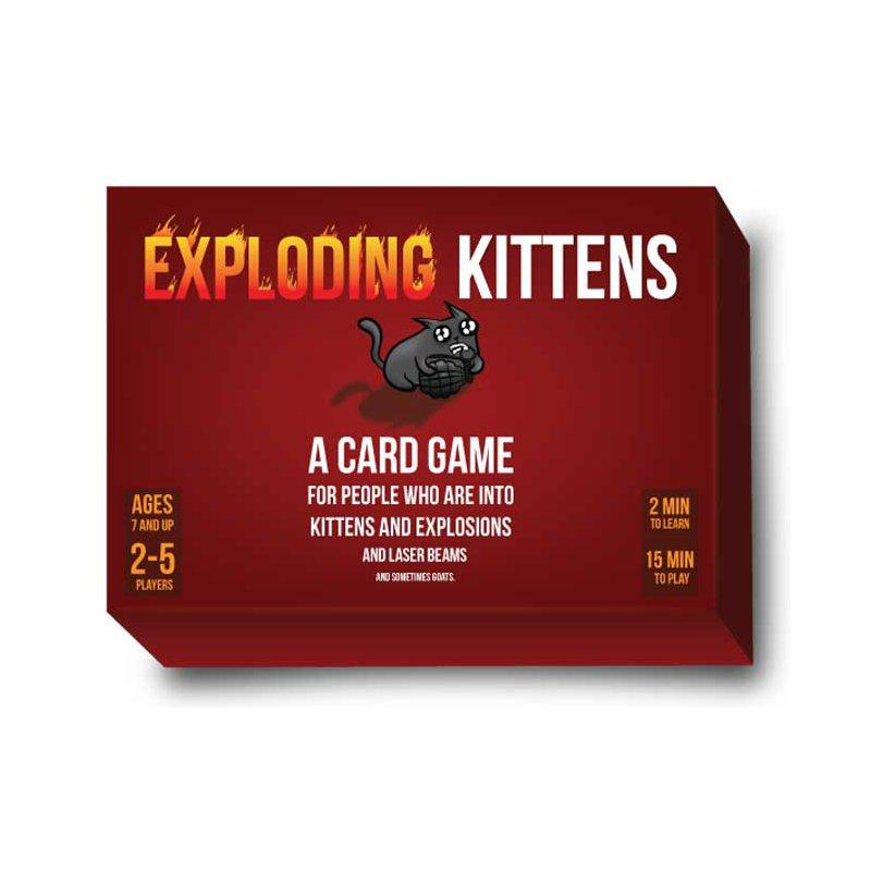 Hình ảnh Đồ chơi boardgame Mèo nổ - exploding kitten