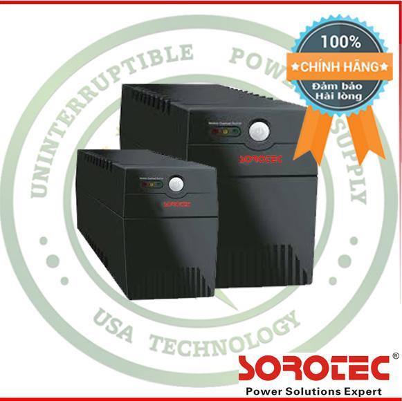 Ôn Tập Bộ Nguồn Lưu Điện Cao Cấp Ups Sorotec Bl650 390W Mau Đen