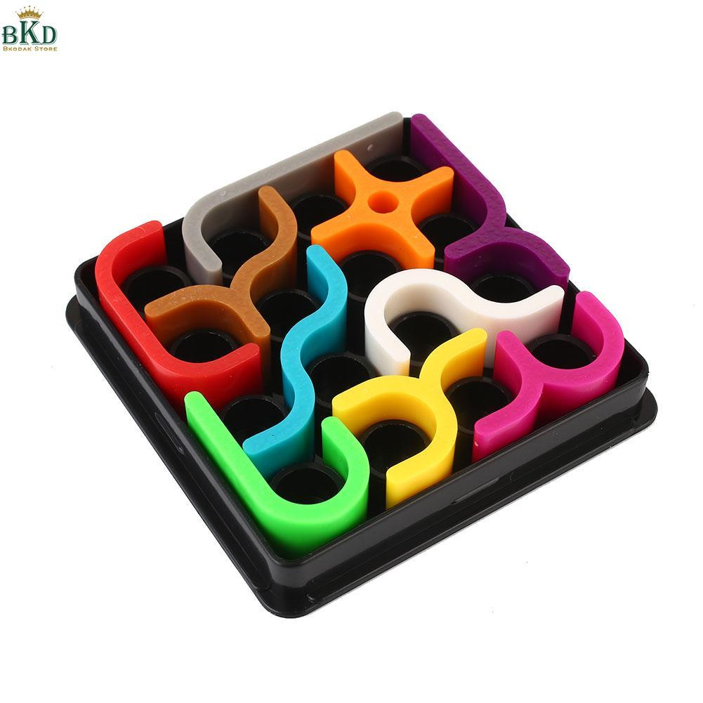 Hình ảnh Bkodak Store Plastic 3D Puzzle Zcube Colorful Funny Brain Developed Game Kids