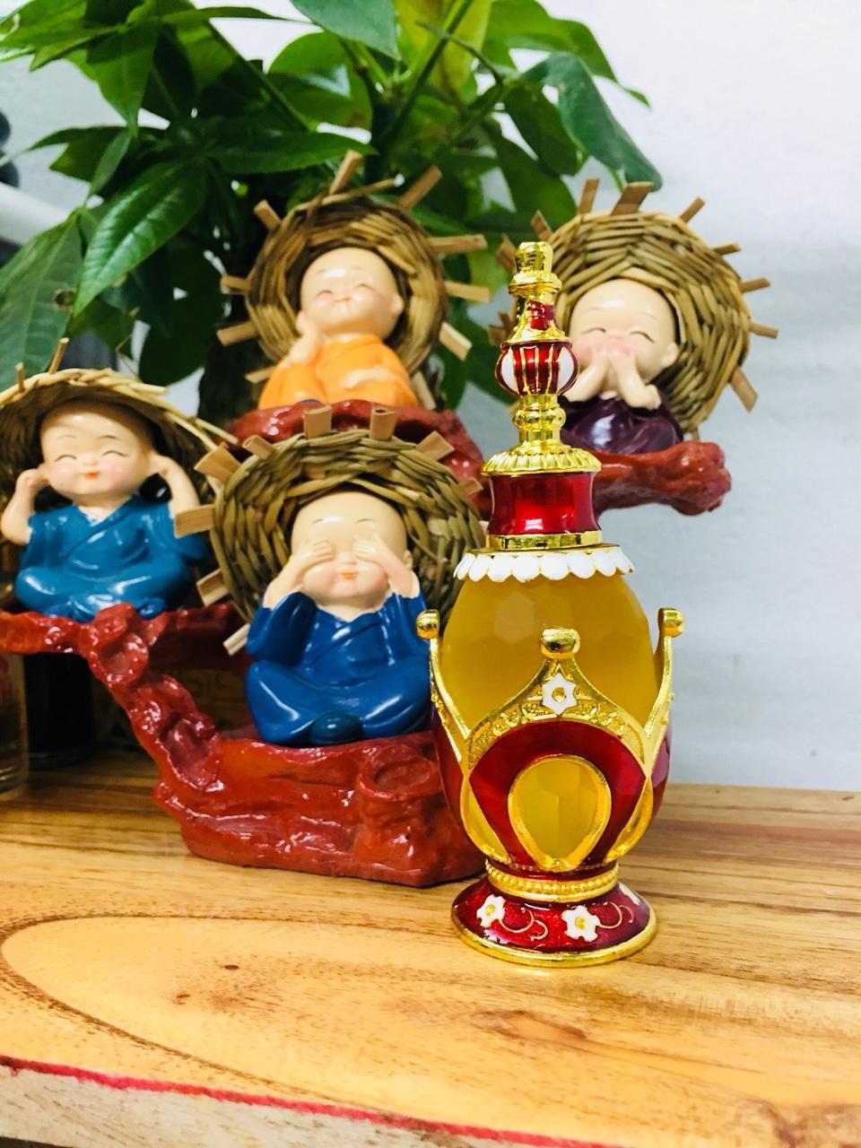Nước hoa tinh dầu MÙI GEMMA cho nữ ( MỜI VỀ HÀNG)- mẫu vương miện 25ml