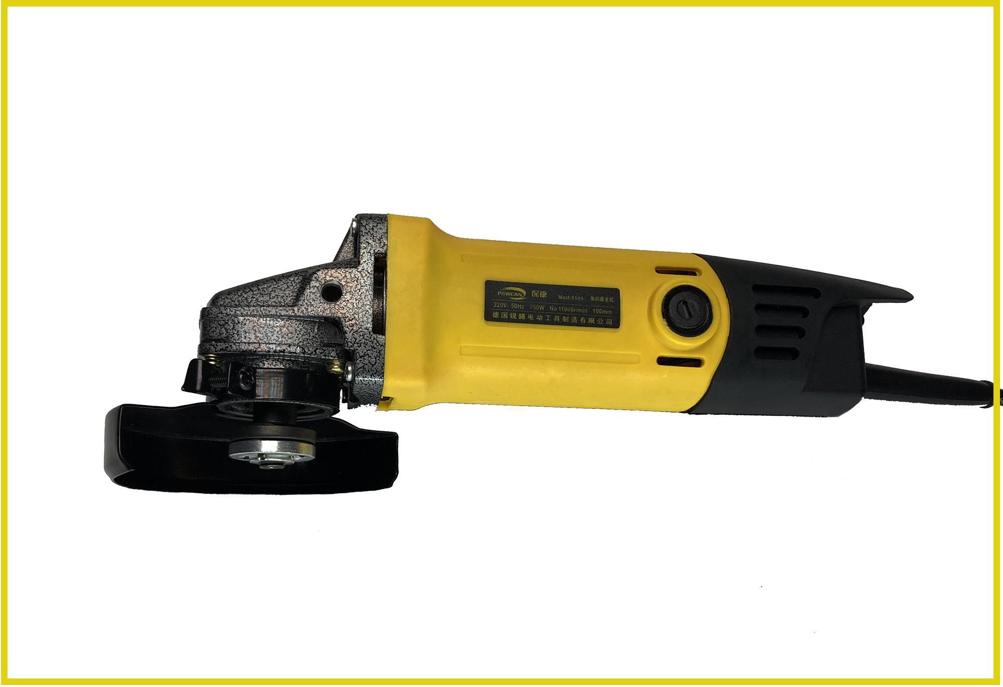 Hình ảnh Máy mài máy cắt cầm tay Powcan 750W - Tặng 2 lưỡi cắt + 2 chổi than