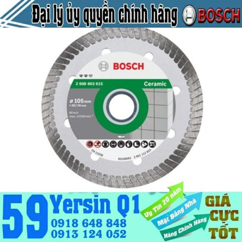 Đĩa cắt đá Ceramic Turbo Bosch 105x20x8.0mm - 2608603615 - 2608603613
