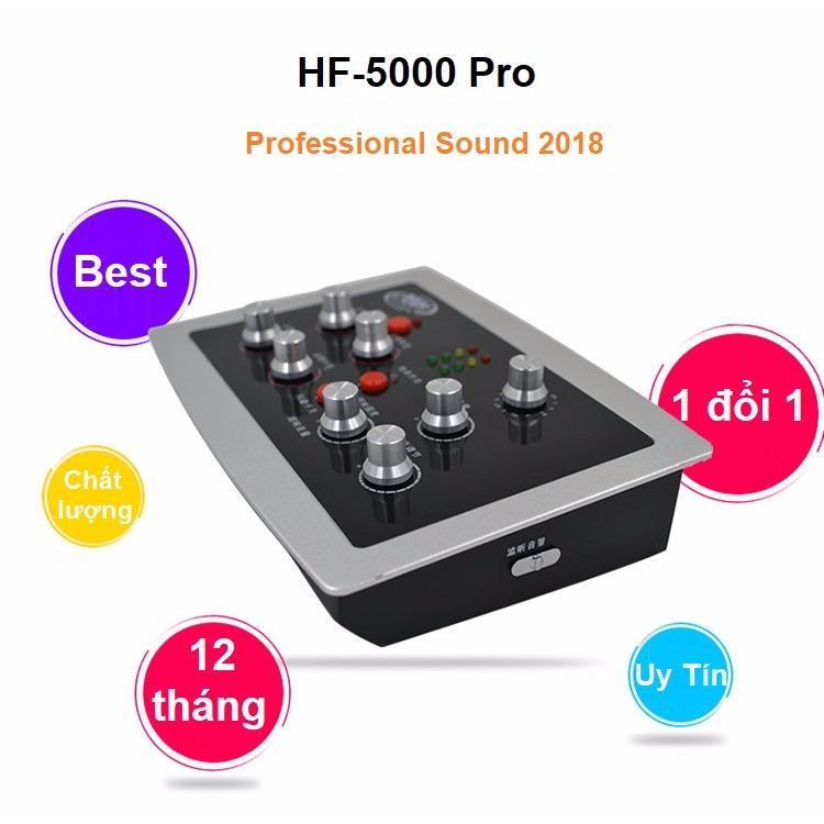 Giá Bán Sound Card Karaoke Online Hf 5000 Pro Bảo Hanh 12 Thang Oem Trực Tuyến