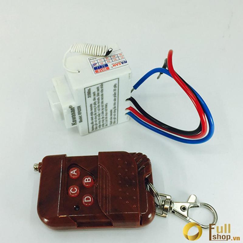 Bộ điều khiển từ xa bật tắt thiết bị điện thông minh Kawa RF02SN-R sóng 315mhz