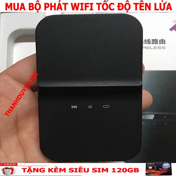 Hình ảnh Router WiFi Từ Sim 3G 4G MI190 (Đen) - Hãng Phân Phối Chính Thức - Tặng Kèm Siêu Sim 120GB/tháng