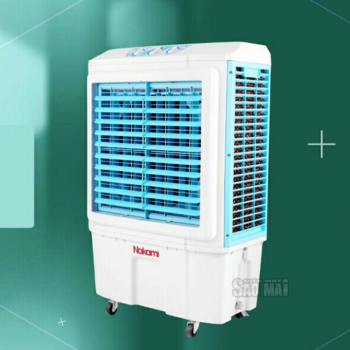 Quạt hơi nước, điều hòa làm mát không khí NAKAMI 5000C ( trắng phối xanh )