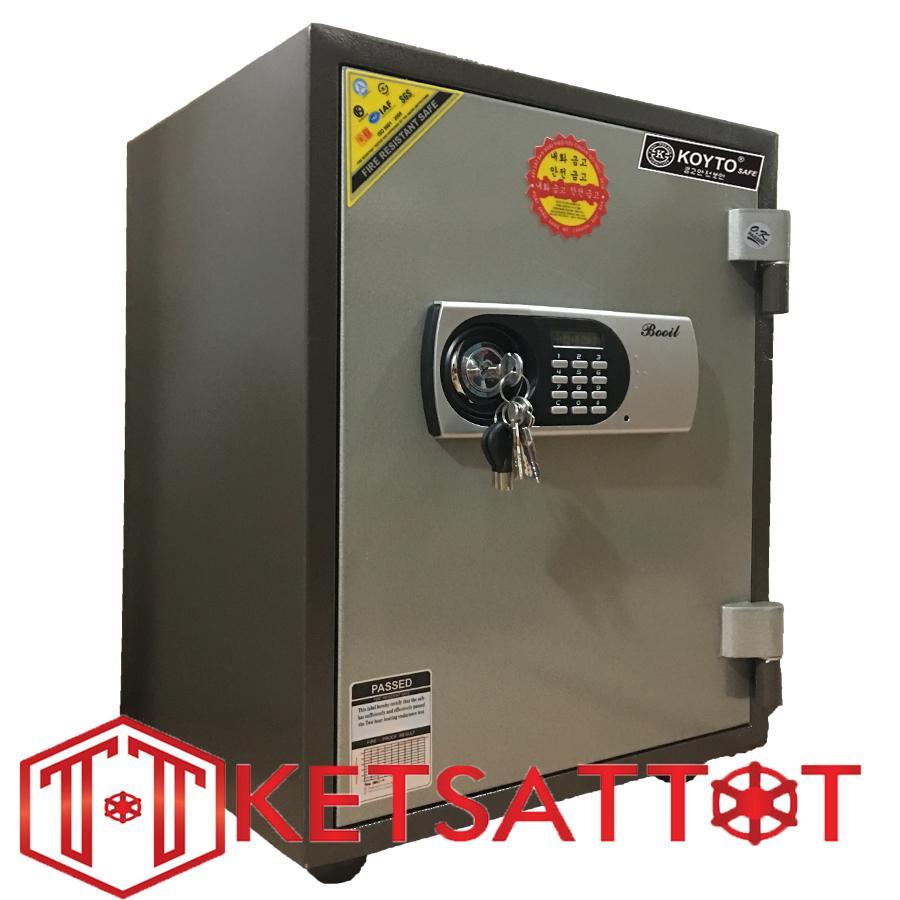 Két sắt chống cháy cao cấp Koyto KY55N ( khóa điện tử báo động )