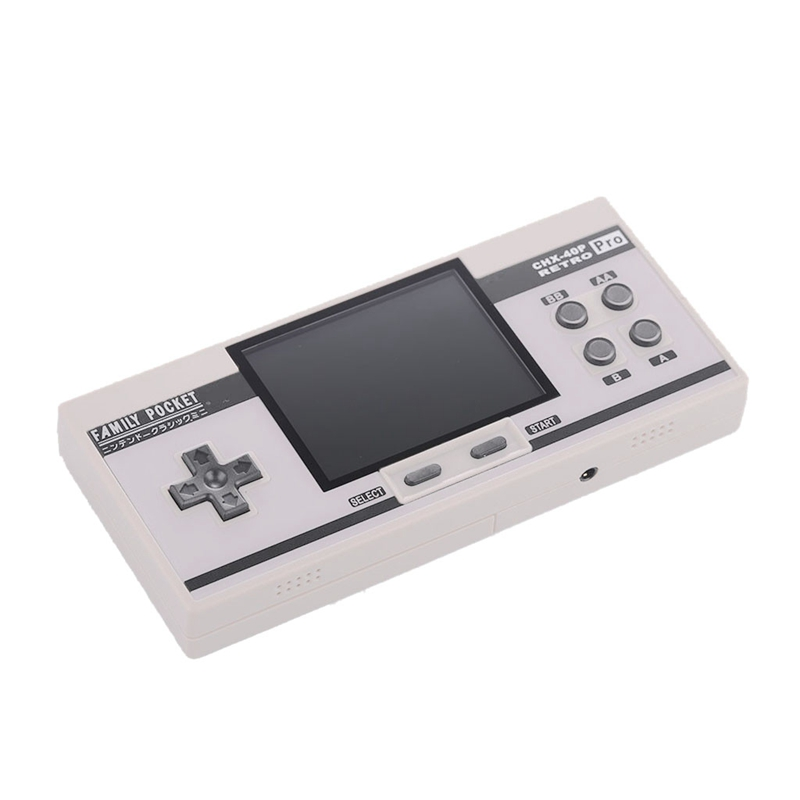 Handheld Game Console 3.0-Inch Screen Game Player 348 Games Av Output 3.5Mm Output Gift For Kids Adults Classic Retro Game Console(White)