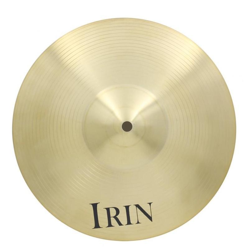 14 Inch Brass Alloy Crash Ride Hi-Hat Cymbal for Drum Set - intl