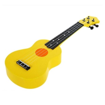 21-Inch High-Grade Teaching Guitar Ukulele Toys For Kid Childrengift (Yellow) - intl