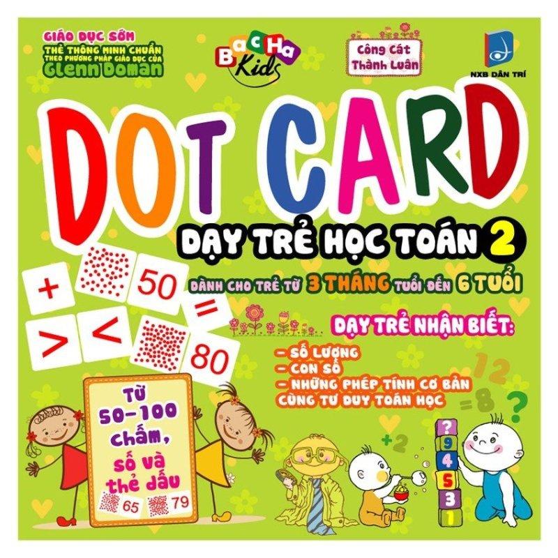 Mua 290_DOT CARD Dạy trẻ học toán - dành cho trẻ từ 3 tháng - 6t