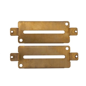 2pcs 70 X 30mm Brass Humbucker Pickup Baseplates(for Electric Guitar) - intl
