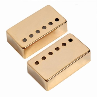 2Pcs Humbucker Pickup Cover 50Mm + 52Mm For Lp Guitar(Gold) - intl