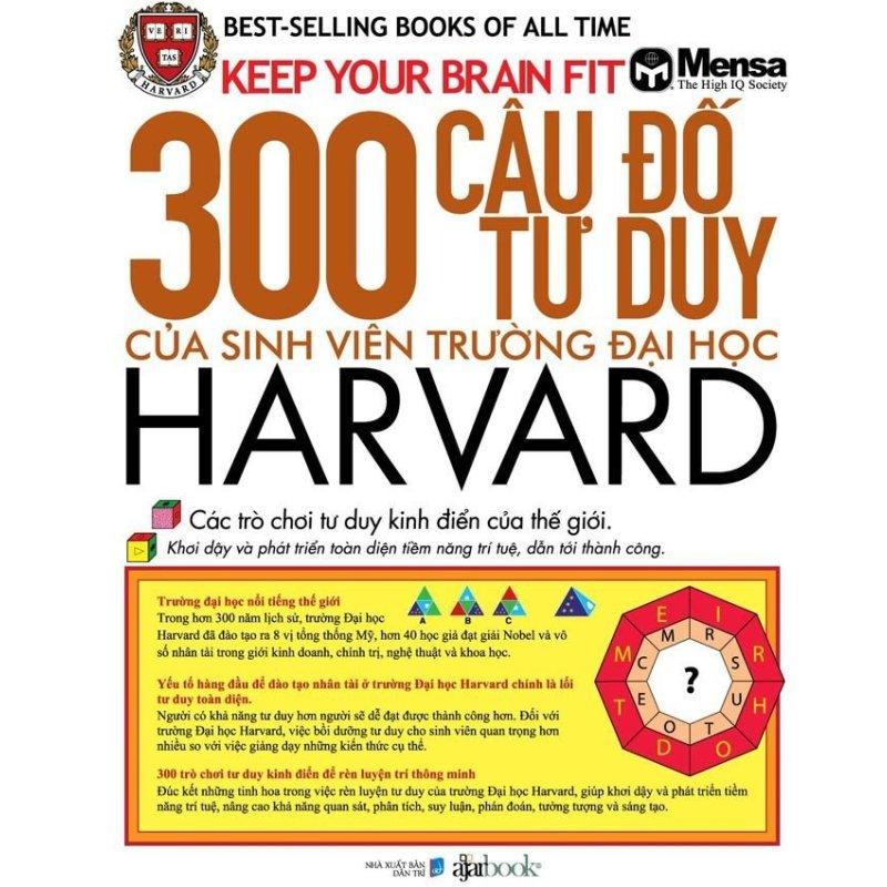 Mua 300 câu đố tư duy của sinh viên trường Đại học Harvard - Hoài Nha