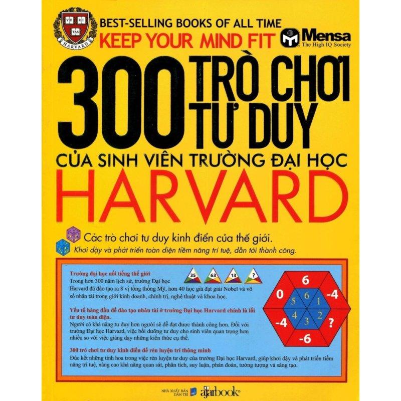 Mua 300 Trò Chơi Tư Duy Của Sinh Viên Trường Đại Học Harvard