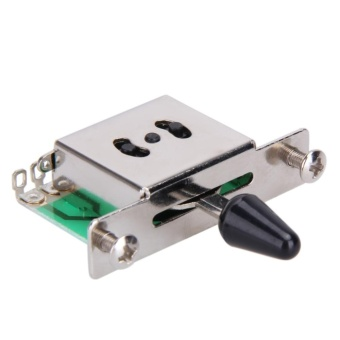 5 Way Selector Electric Guitar Pickup Switches Toggle Lever Switch- intl